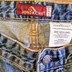 JORDACHE NEW W TAG Jean's Flare Leg 13/14